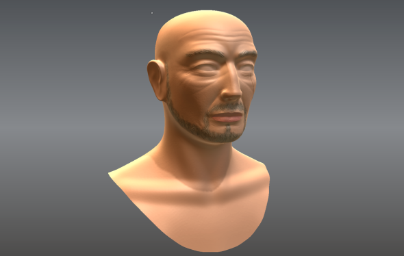 Second Mudbox attempt